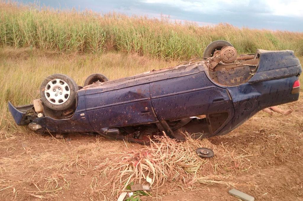 Al parecer la salida de un neumático provocó esta tragedia. Crédito: Gentileza