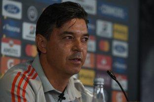 """Gallardo se defiende: """"No somos un desastre, jugamos mal dos partidos"""""""