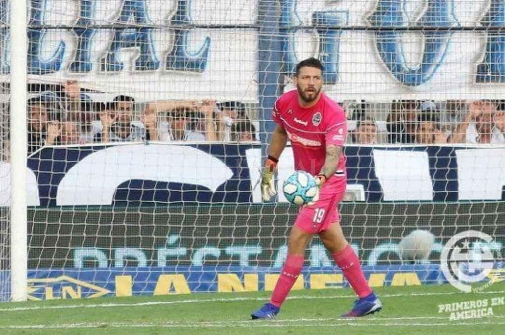 Jorge Broun en su paso por Gimnasia y Esgrima de La Plata. Crédito: Gentileza