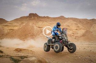 Rally Dakar: Manuel Andújar se mantiene como líder en cuatriciclos