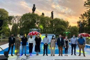 Michlig participó de la inauguración de la 17° Fiesta Nacional del Camping de San Guillermo
