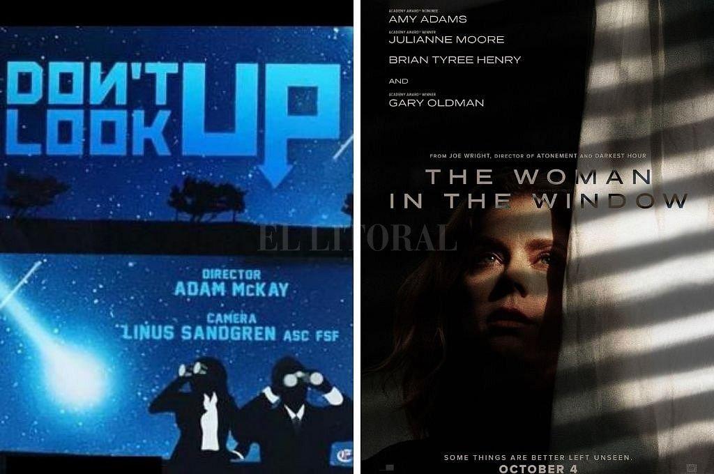 Dos de las películas que se podrán ver en la plataforma este 2021. Crédito: Captura digital