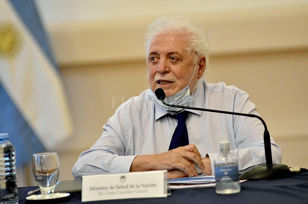 Ginés González García, ministro de Salud de la Nación. Crédito: Archivo El Litoral / Pablo Aguirre