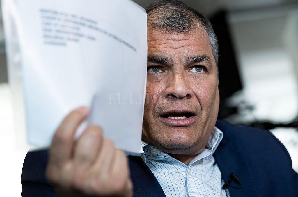 Rafael Correa. Crédito: Archivo El Litoral
