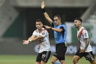 La Conmebol dio a conocer los audios del VAR en Palmeiras-River