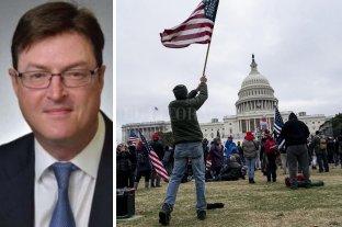 Un manifestante se suicidó tras ser acusado de participar en el asalto al Capitolio - Christopher Stanton Georgia tenía 53 años. -