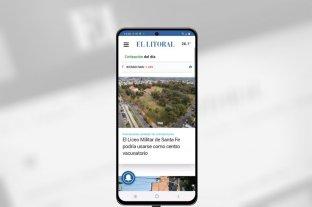 Descargá la app de El Litoral y llevá las noticias adonde vayas -  -
