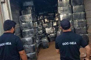 Misiones: secuestran un camión con casi 6 kilos de marihuana