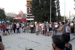 Pedido de seguridad en la plaza Libertad en Rosario