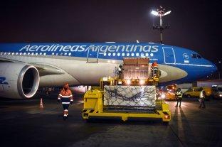 Arriban hoy a Moscú los dos vuelos de Aerolíneas que traerán más vacunas