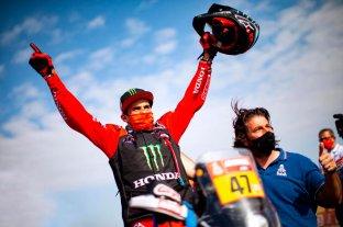 Histórico: el argentino Kevin Benavides se quedó con el Rally Dakar 2021