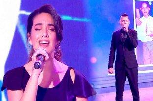 Ángela Leiva y Brian Lanzelotta, finalistas del Cantando 2020