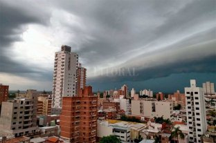 Rige un alerta por tormentas para Santa Fe -