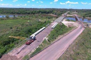 Invierten 177 millones de pesos en la reconstrucción de un puente caído en 2017 en Corrientes