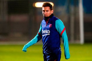 Messi sigue en duda para disputar la final de la Supercopa de España