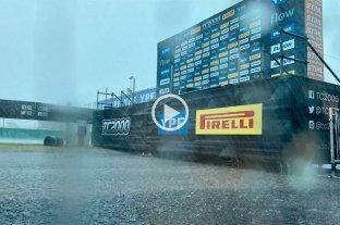 Impactantes imágenes de la tormenta en el Club de Volantes Entrerrianos