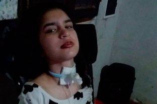 Piden ayuda para Ayelén, una joven que debe viajar a China para tratar una lesión cerebral
