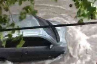 El fuerte temporal en Paraná dejó árboles caídos, calles anegadas y muchos inconvenientes