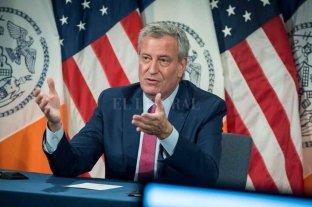 El alcalde de Nueva York advierte que la ciudad se queda sin vacunas