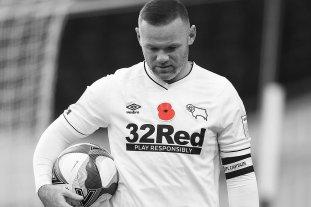 El inglés Wayne Rooney se retiró del fútbol