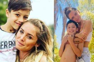 La ex Chiquititas Catalina Artusi se reencontró con su hijo después de denunciar públicamente a su ex pareja