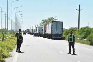 Corte total en la Ruta Nacional 168 a la altura del túnel subfluvial -