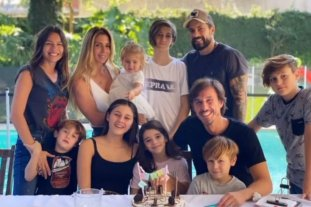 """El mensaje de Milagros Brito a Pampita, ex de Moritán: """"La familia de mis hijos es también la mia"""""""