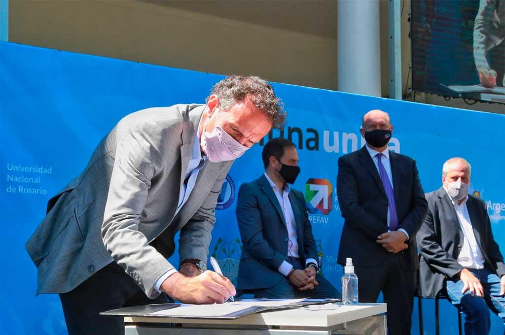 Nación invertirá 300 millones de pesos en obras en Santa Fe -  -