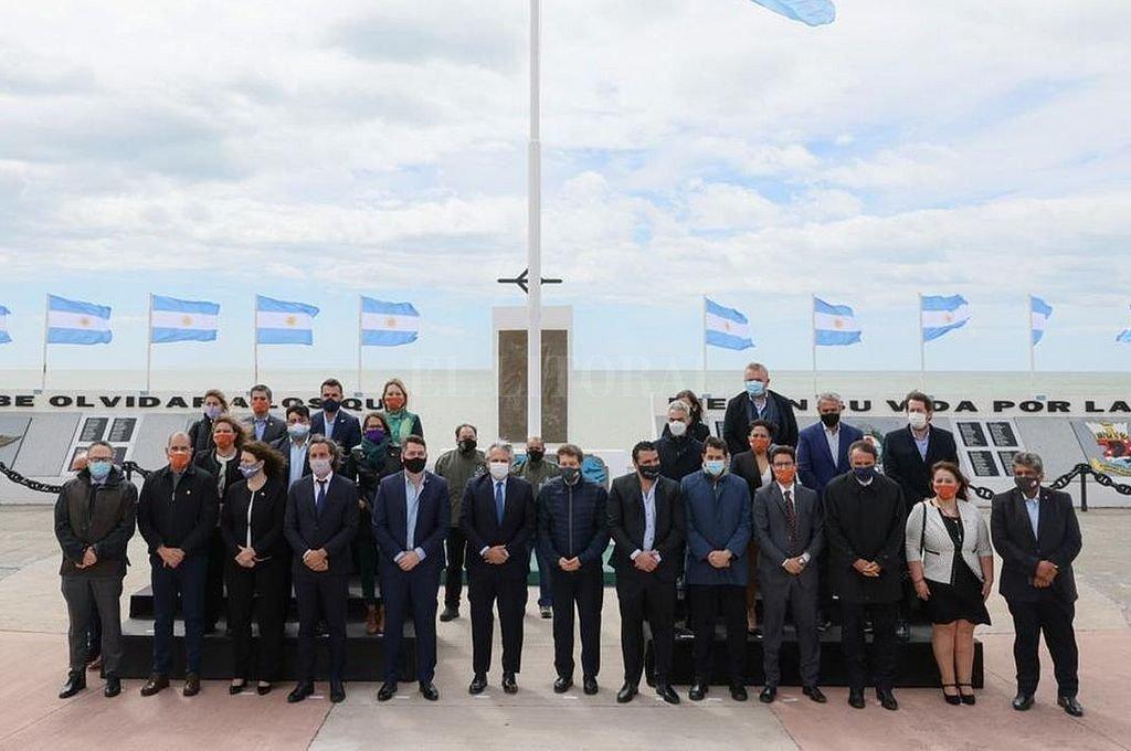 La primera reunión del gabinete federal se realizó en Tierra del Fuego. Crédito: Archivo El Litoral