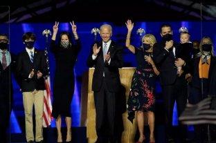 """Los Biden, la nueva """"primera familia"""" de Estados Unidos"""