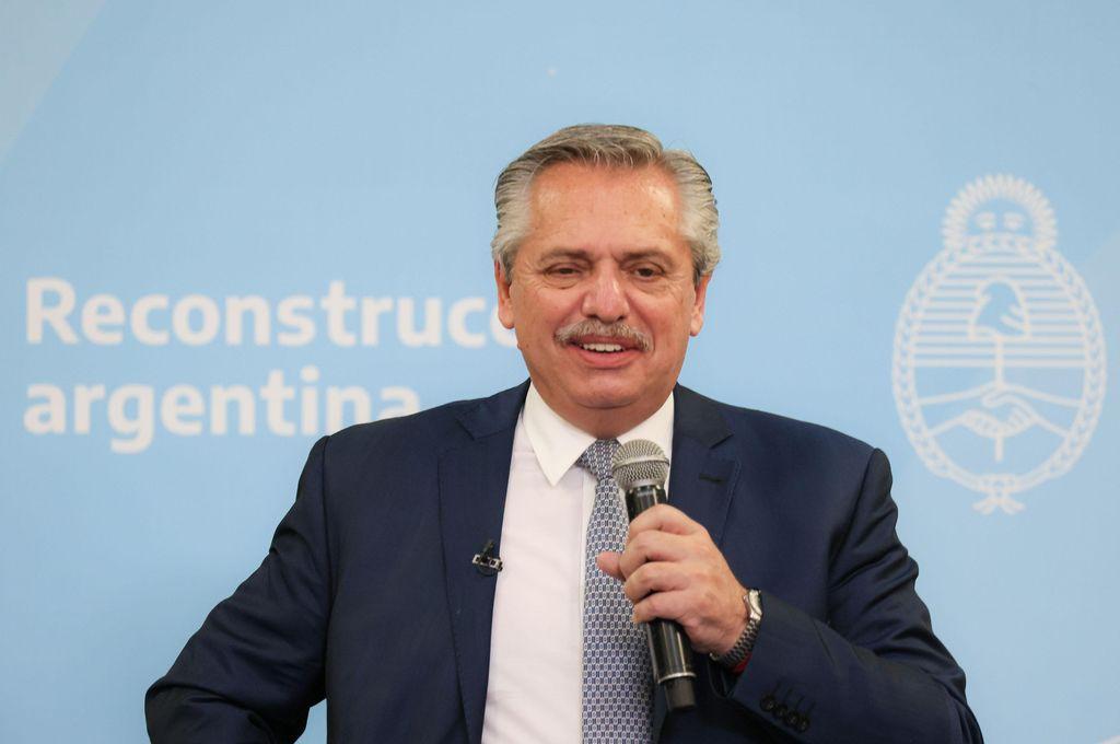Alberto Fernández. Crédito: Presidencia de la Nación