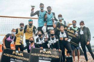 Beach Volley: exitosa segunda etapa para los santafesinos