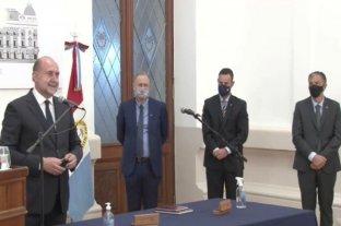 Sukerman, Corach y Pusinerijuraron en sus nuevos cargos