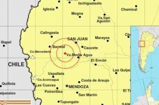 Terremoto en San Juan - Se registró un sismo de 6.8 de magnitud en la región de Cuyo -