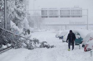 """El gobierno español declaró zona catastrófica los lugares afectados por el temporal """"Filomena"""""""