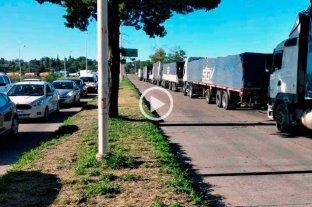 Segundo día de protestas en rutas de la región: cortes intermitentes en el túnel -  -