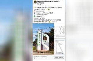 El Municipio de Recreo advierte sobre una posible venta irregular de terrenos