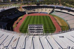 El estadio Mario Kempes reacondicionado para recibir la final de la Copa Sudamericana