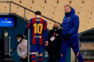 Messi recibió dos fechas de suspensión