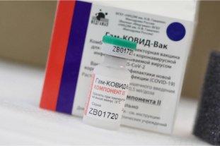 Llegaron las segundas dosis de la vacuna rusa a Corrientes