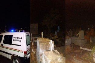 Vecinos en alerta por la aparición de una extraña mujer en el cementerio de Garupá