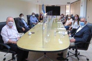 Mounier se reunió con el Ministro de Trabajo de la Nación
