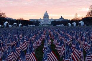 Estados Unidos: cinco claves sobre la asunción de Joe Biden y Kamala Harris - La ornamentación exterior -