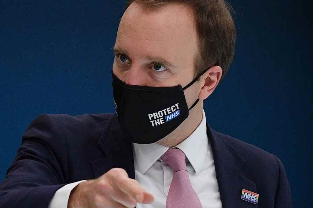 Matt Hancock, ministro de Salud del Reino Unido. Decidió su autoaislamiento.    Crédito: Internet