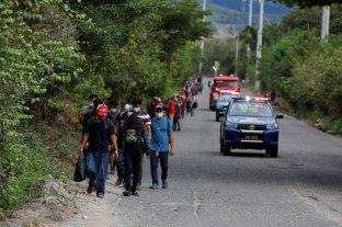 Guatemala bloquea la caravana de migrantes hondureños