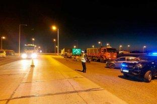 Sigue la protesta de transportistas en rutas de la provincia de Santa Fe -  -