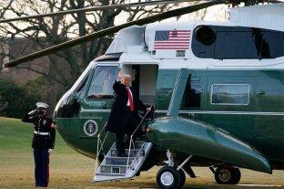 """Trump ya dejó la Casa Blanca: """"Volveremos, de alguna manera"""""""