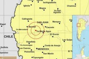 Se registró un nuevo sismo en una de las zonas más afectadas de San Juan