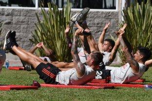 Con la presencia de Gallardo, River regresó a los entrenamientos