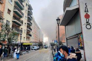 Al menos dos muertos tras la explosión en Madrid